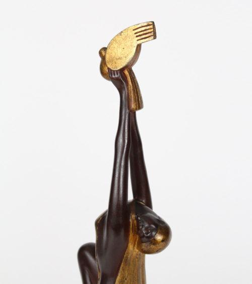 Sculpture Art Deco Gantcheff 1930 Grégoire Grisard Grun Gerval Hannaux