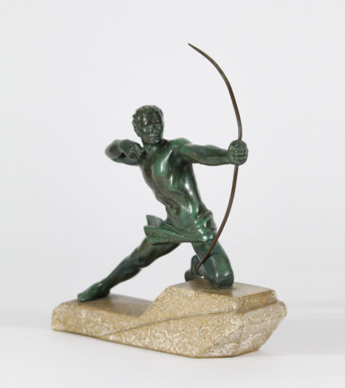 Sculpture Regule Fonte d'Art Art Deco 1930