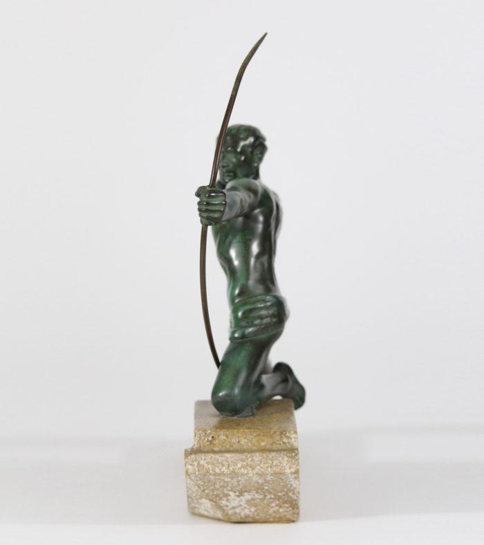 Regule Le Verrier Fonte d'Art Le Faguays Fayral Bouraine 1930