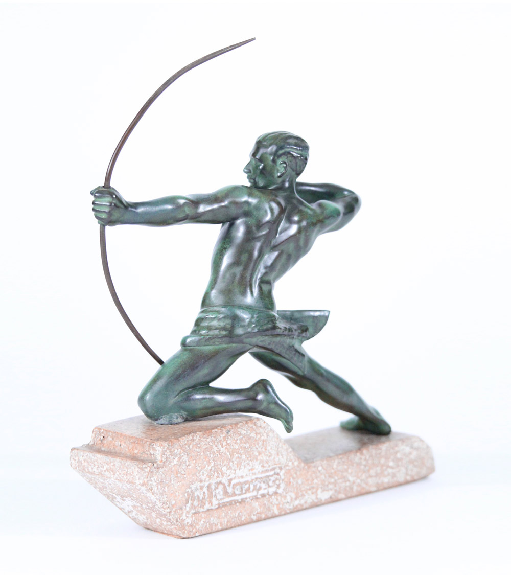 Le Verrier Guerbe Fayral Le Faguays Derenne Briand Fonte d'Art 1930