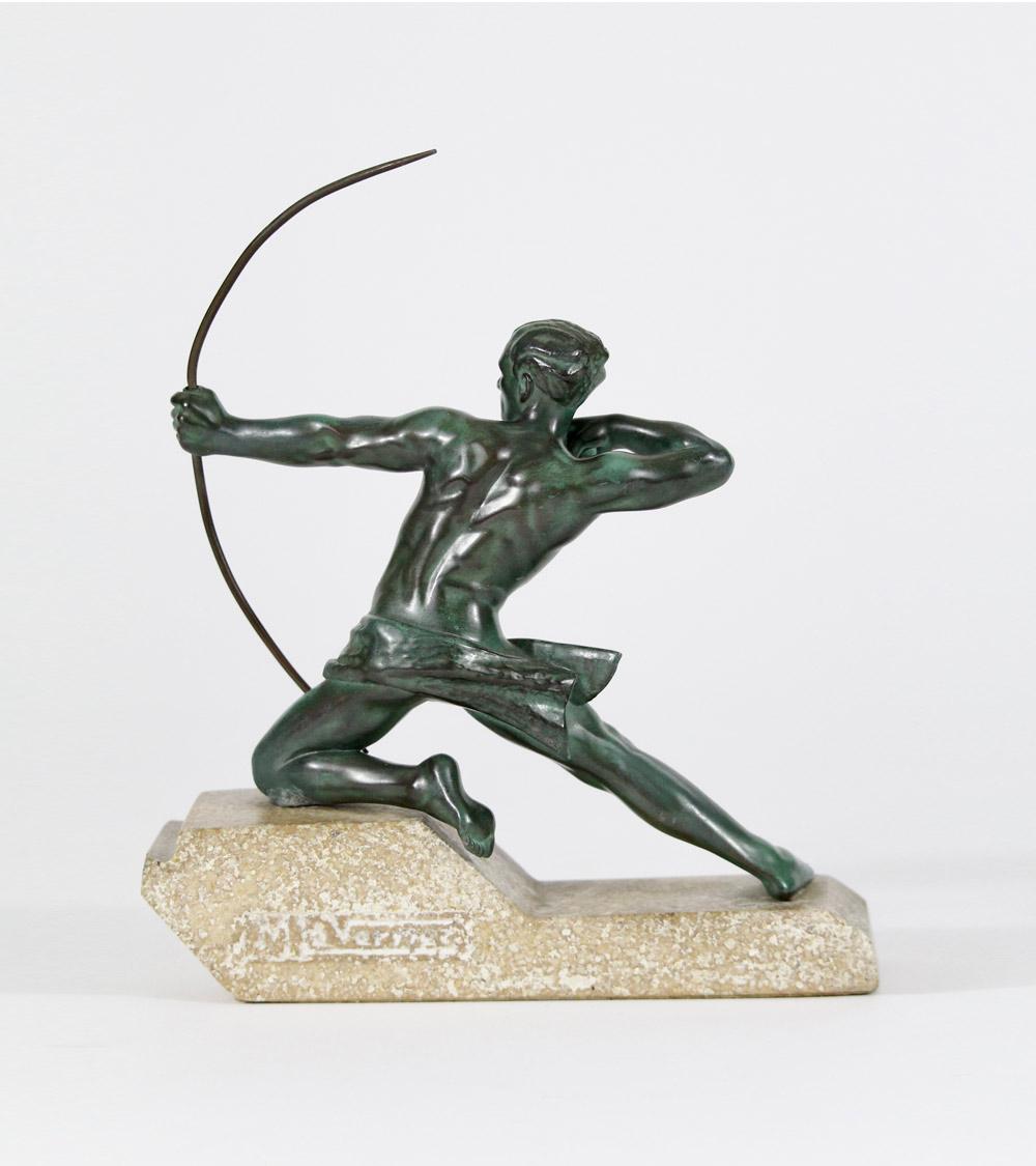 Archer Fonte d'Art Le Verrier Fayral Bouraine Le Faguays Guerbe
