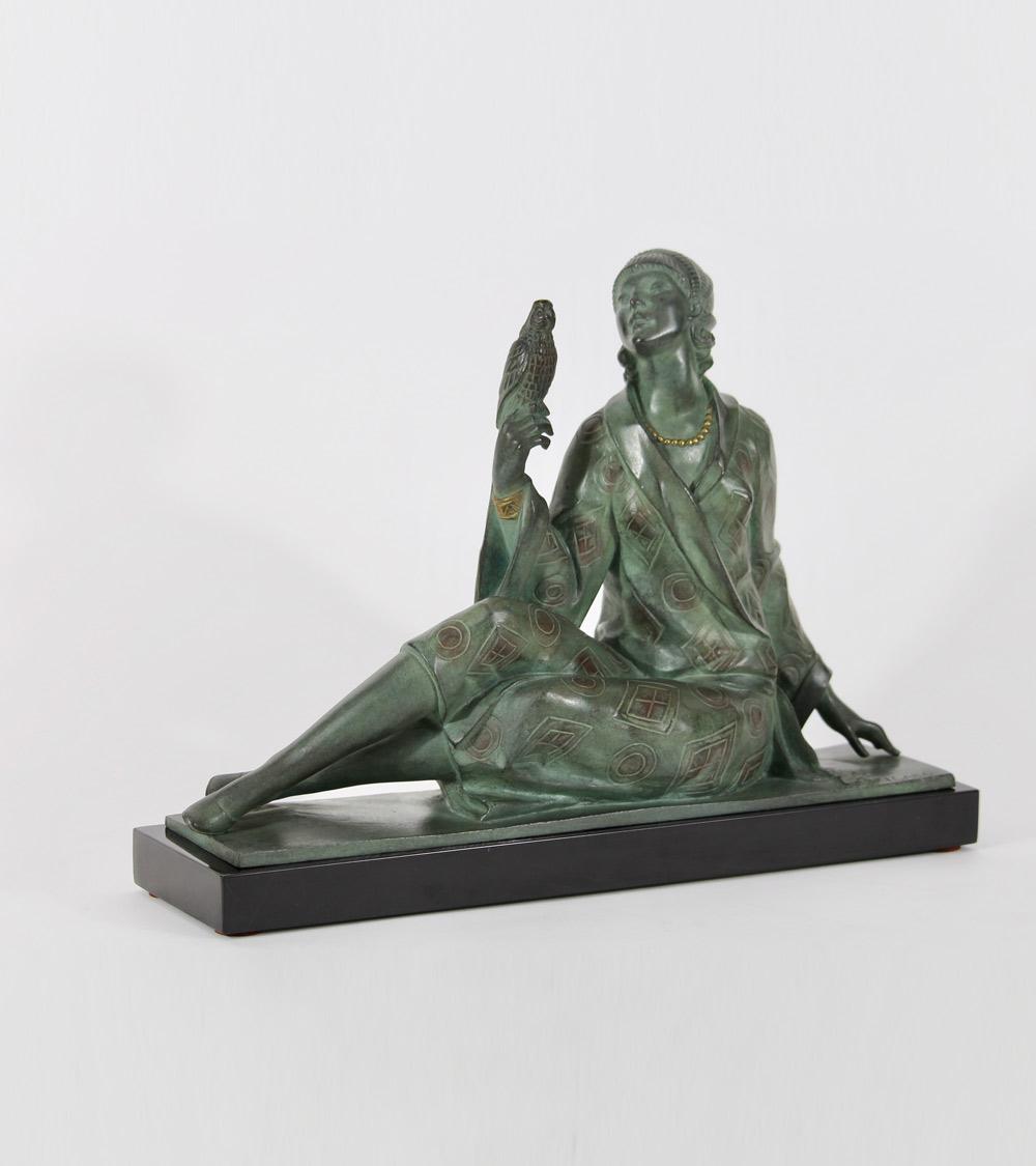 Chiparus bronze et Ivoire Le Verrier Bouraine Philippe