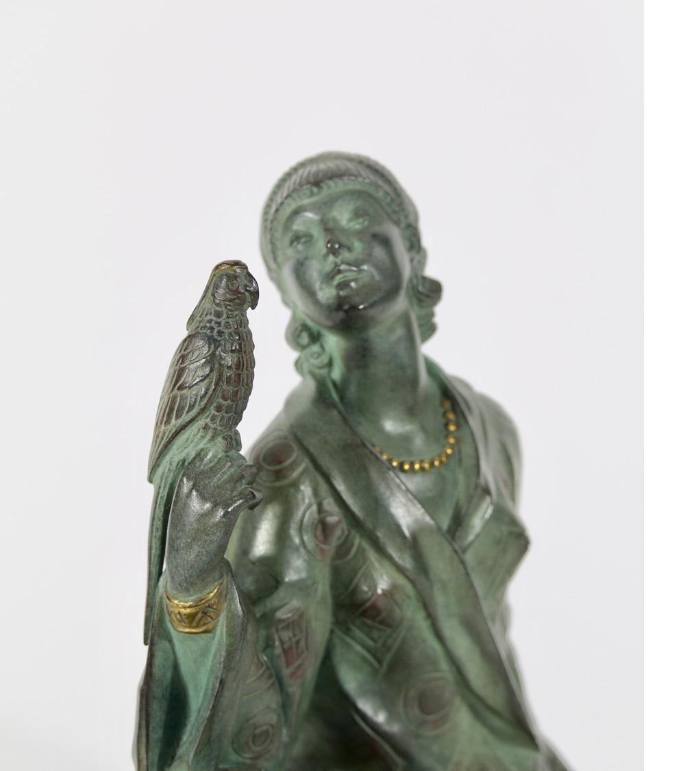 Sculpture Bronze Chiparus Descomps Philippe