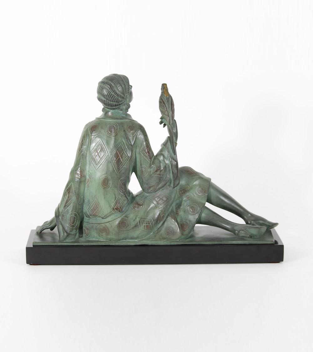 Lavroff Godchaux Le Faguays Bronze Art Déco