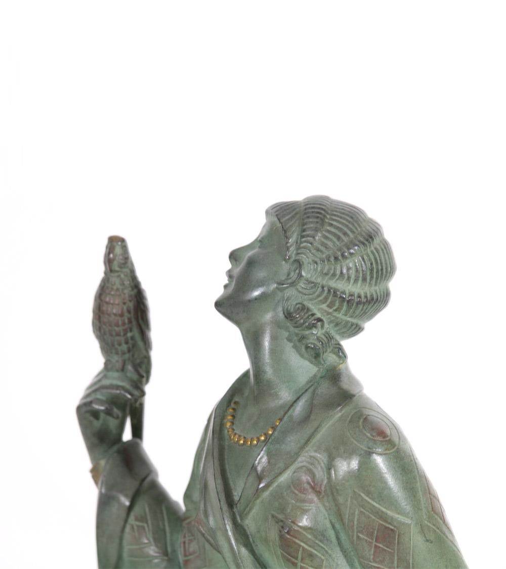 Bouraine Kelety Chiparus Gantcheff Bronze 1930