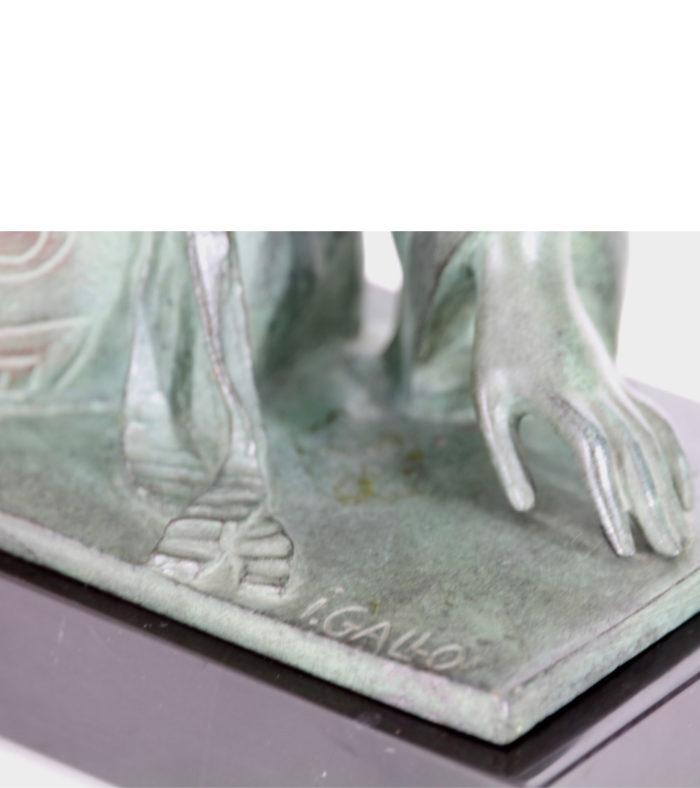 Gallo Bronze Art Déco Le Faguays