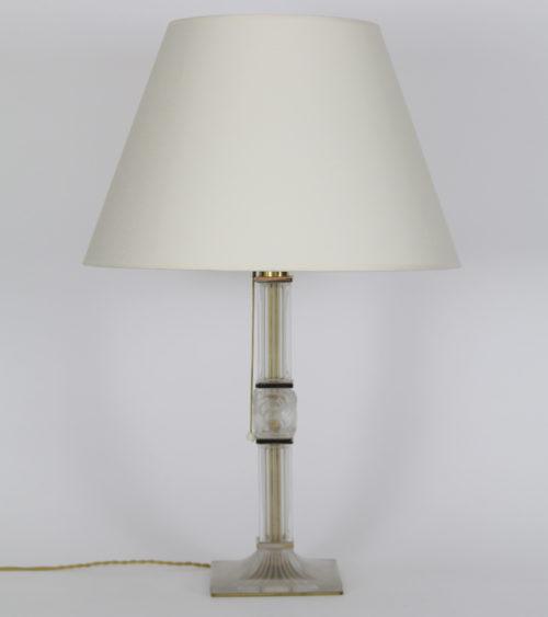 Lampes Gallé Daum Lalique Argy-Rousseau