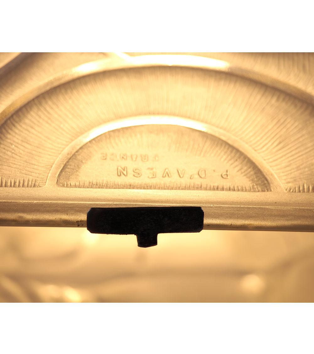 Lampe Art Deco D'Avesn Lalique daum