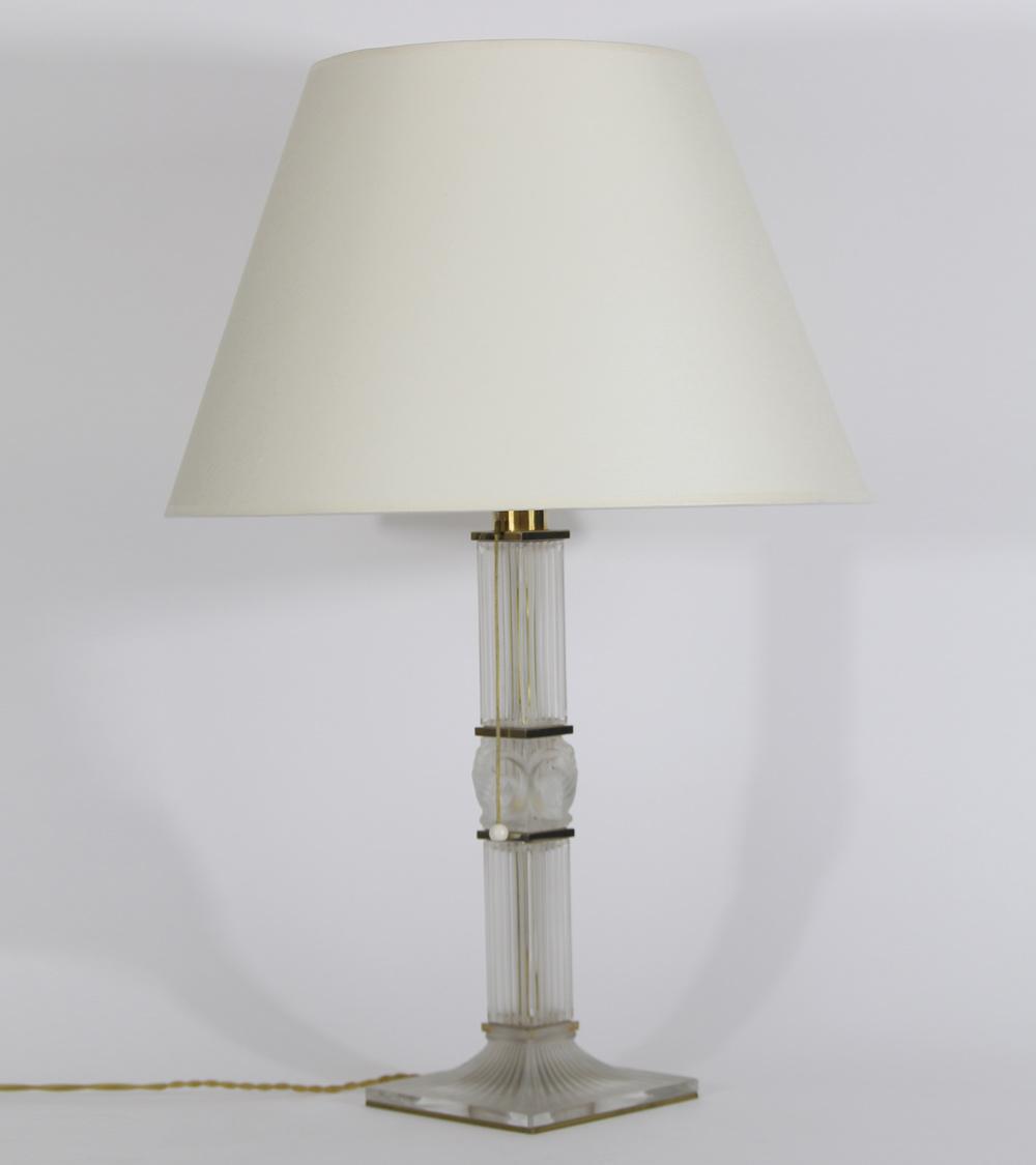 Lampe et Bougeoirs Art Déco Art Nouveau