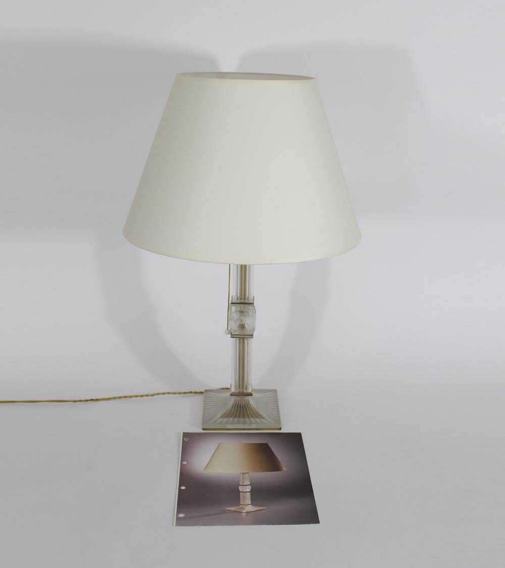 Lalique Lampe Art Déco 1970