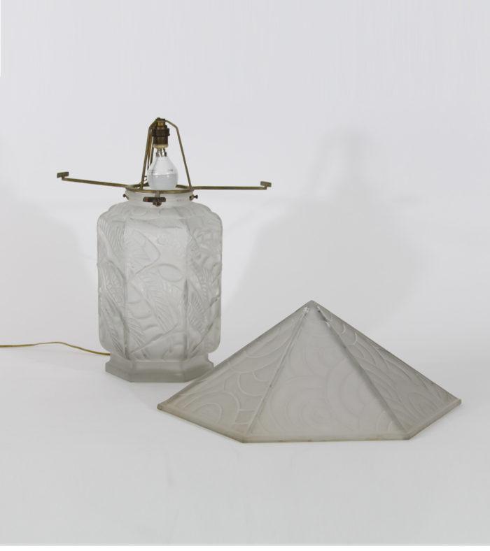 Lampe Art Déco Daum Lalique Gallé