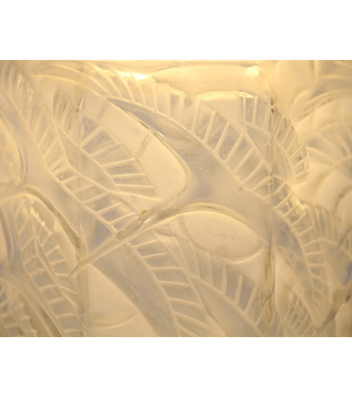 Lampe Art deco D'Avesn Lalique Muller Daum