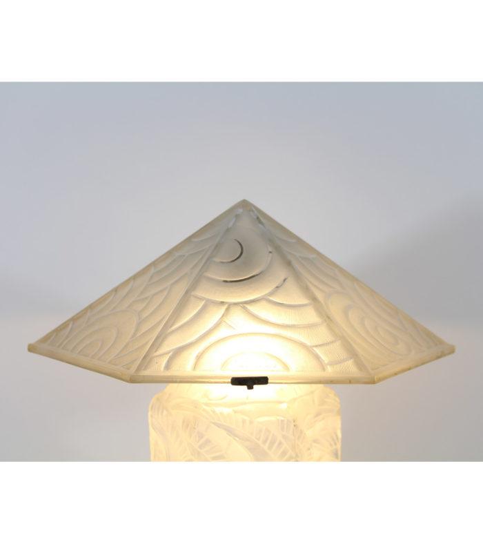 Lalique Daum Lalique Lampe Art Déco