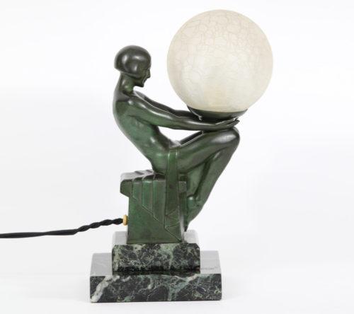 M Le Verrier Lampes Art Déco Fayral M Bouraine R Guerbe 1930