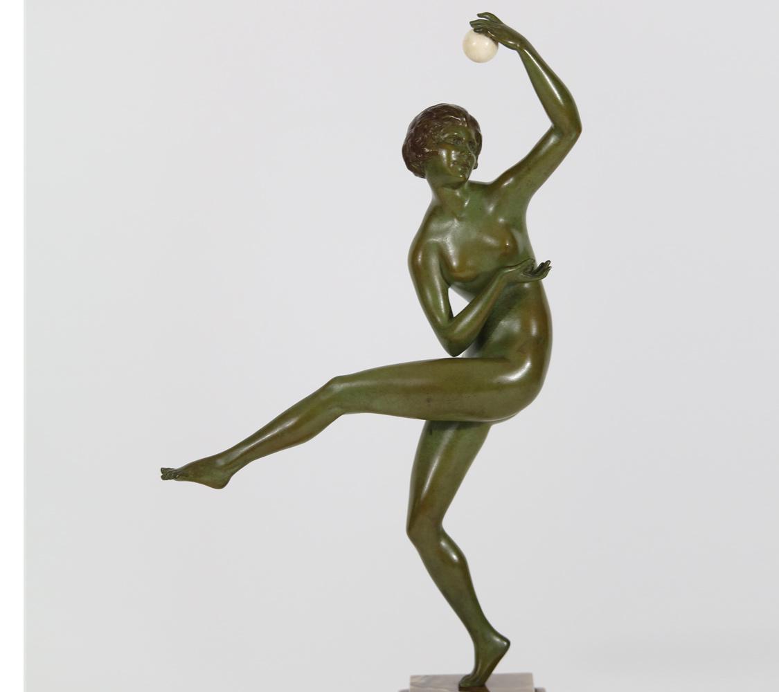 M Guiraud-Riviére D Chiparus A Kelety F Preiss P Philippe P Le Faguays Bronzes et Chryséléphantines Art Déco 1930